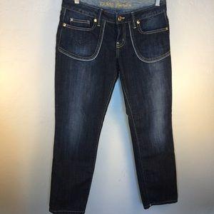 Guess Jean Size 28 Skinny Stretch Premium Cropped